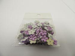Bags of flower embellishments  x 100 per bag Clearance